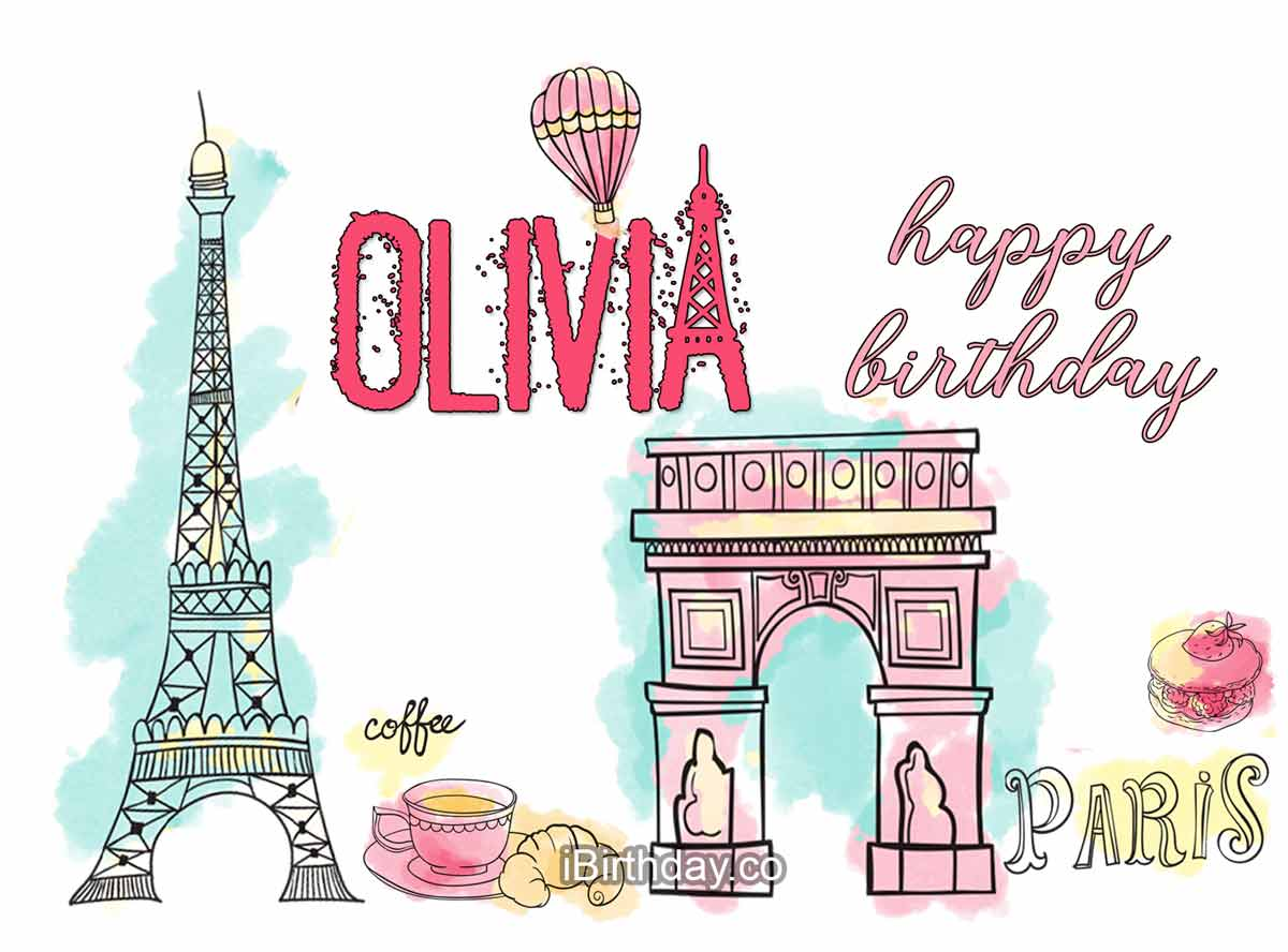 Olivia Paris Birthday Wish