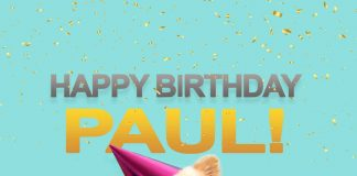 Paul Happy Birthday Dog
