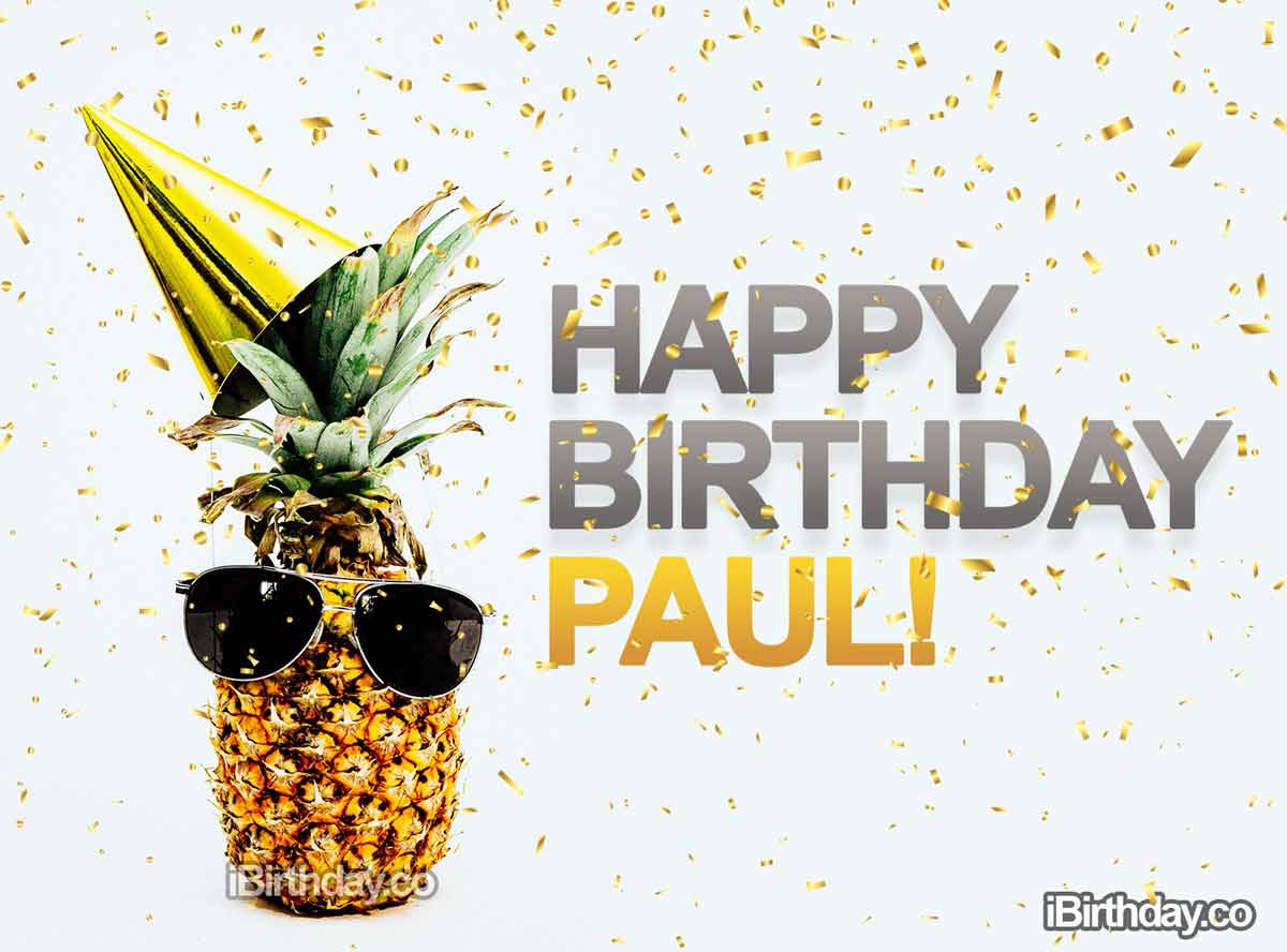 Paul Pineapple Birthday Meme
