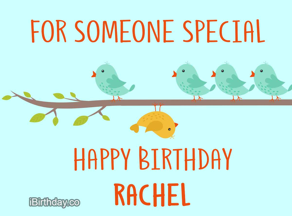 Rachel Birds Birthday Wish