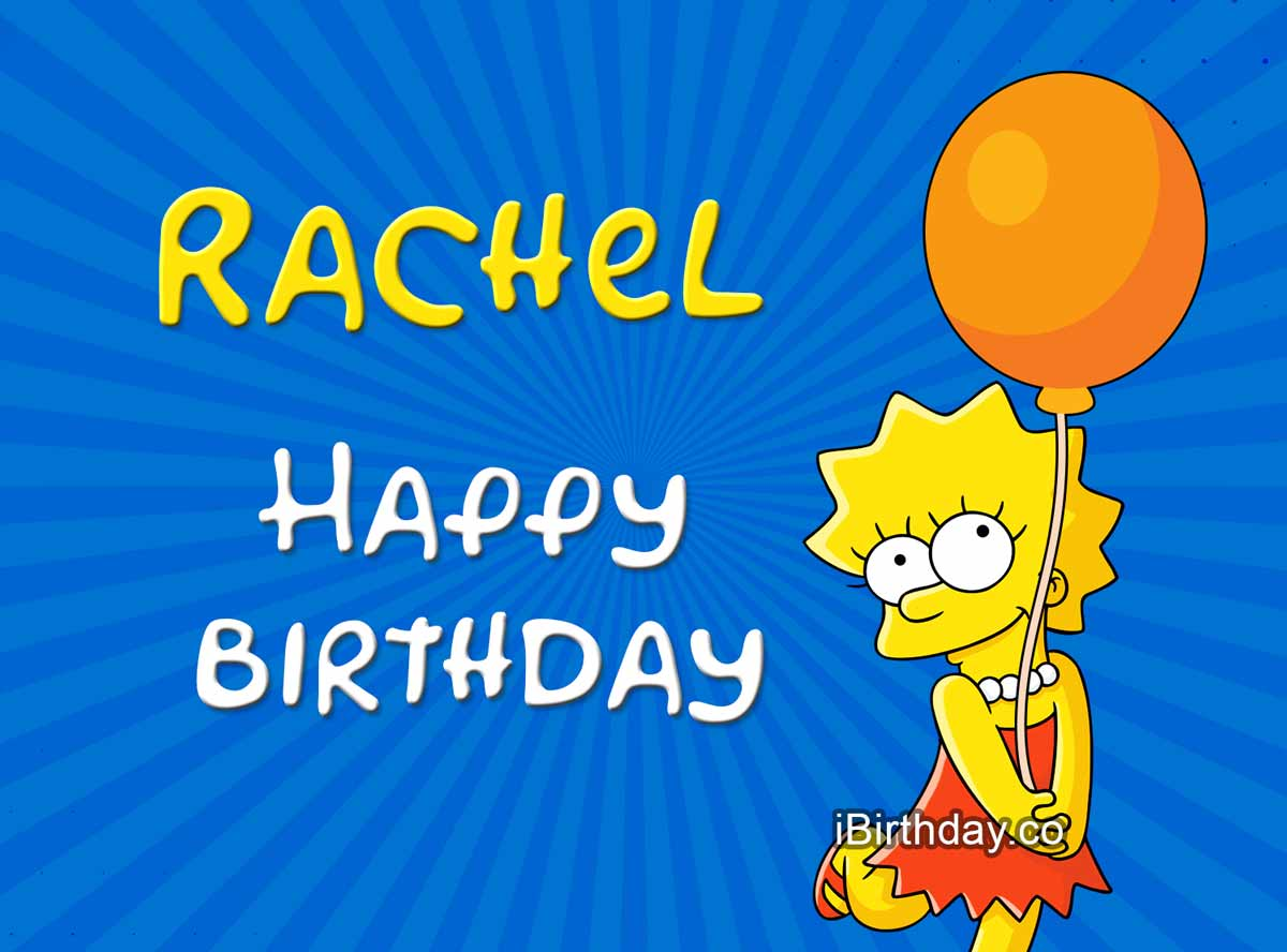 Rachel Lisa Simpson Birthday Meme