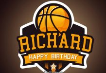 Richard Basketball Birthday Meme