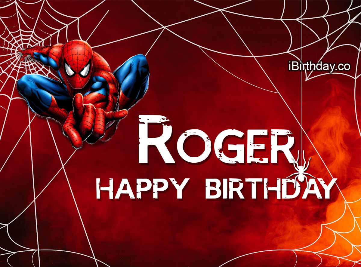 Roger Spider-man Birthday Meme