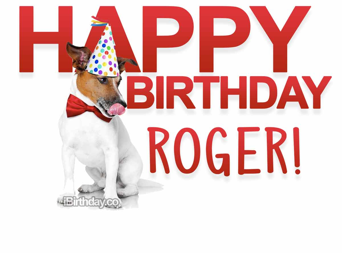 Roger Dog Birthday Meme