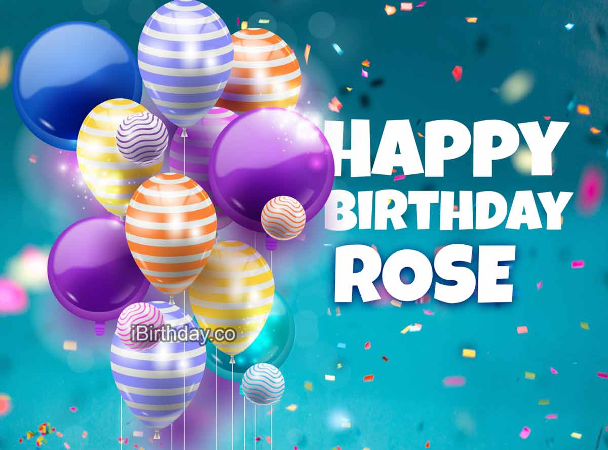 Rose Balloons Birthday Meme