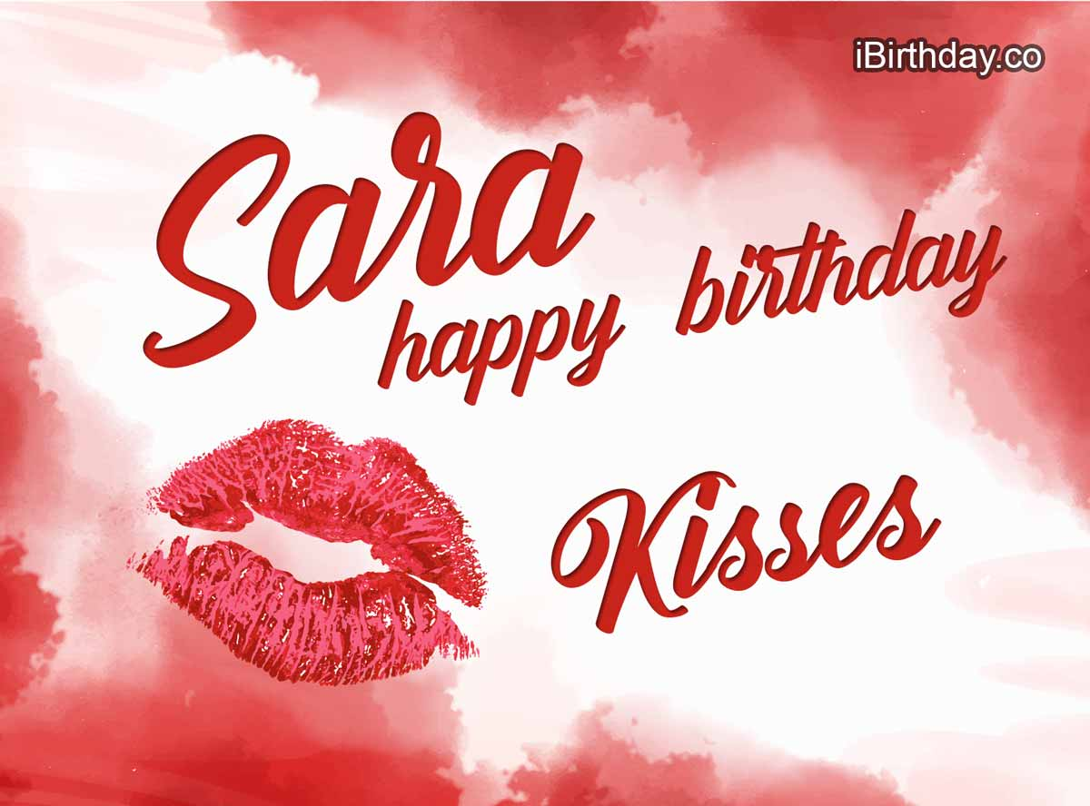 Sara Kisses Birthday Meme