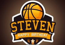 Steven Basketball Birthday Meme