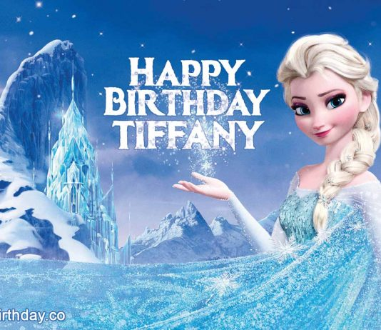 Tiffany Frozen Birthday Meme