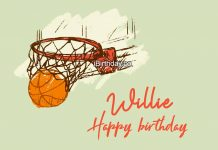 Willie Basketball Happy Birthday Meme