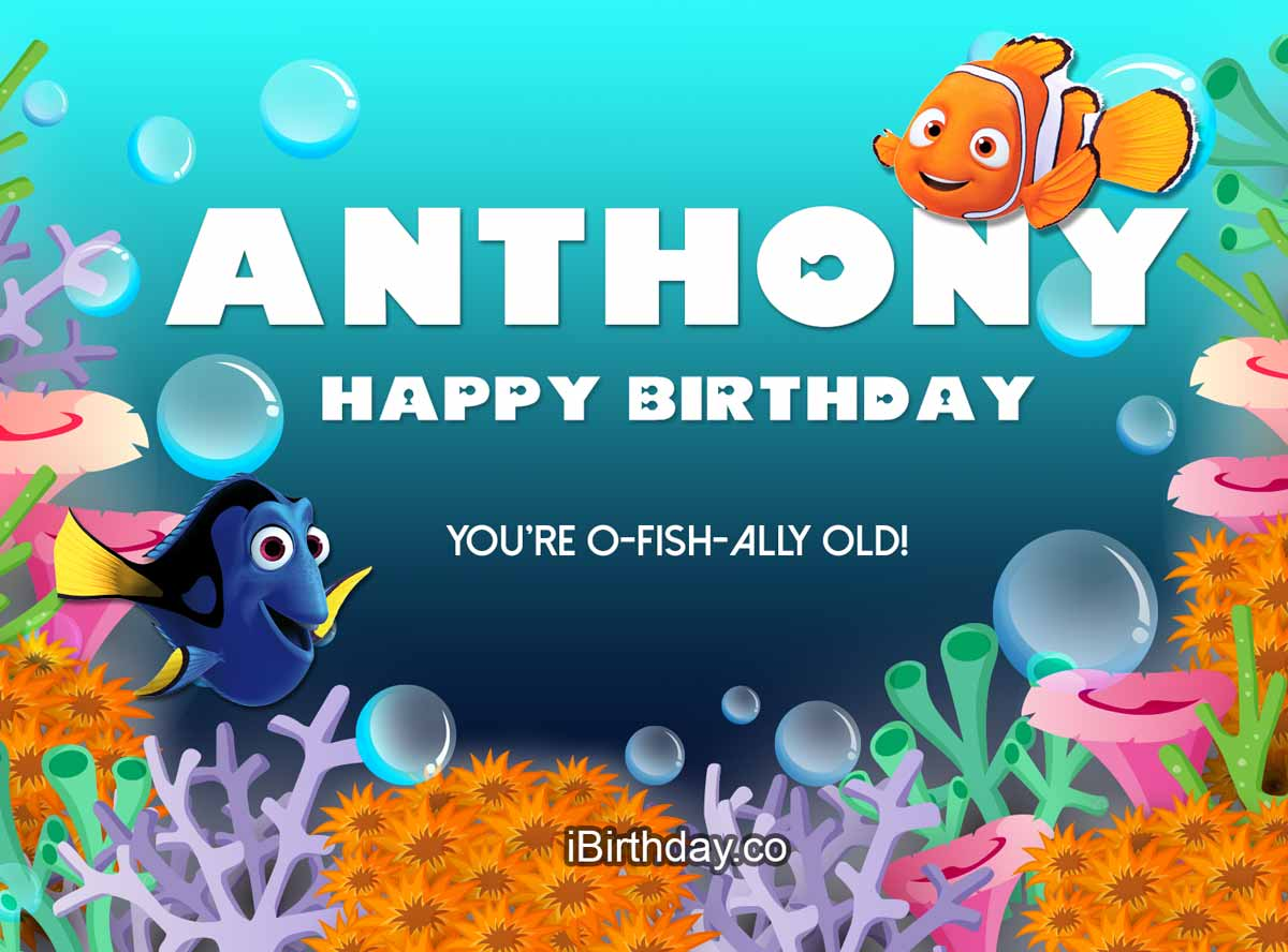 Anthony Nemo Happy Birthday