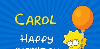 Carol Lisa Simpson Birthday Meme