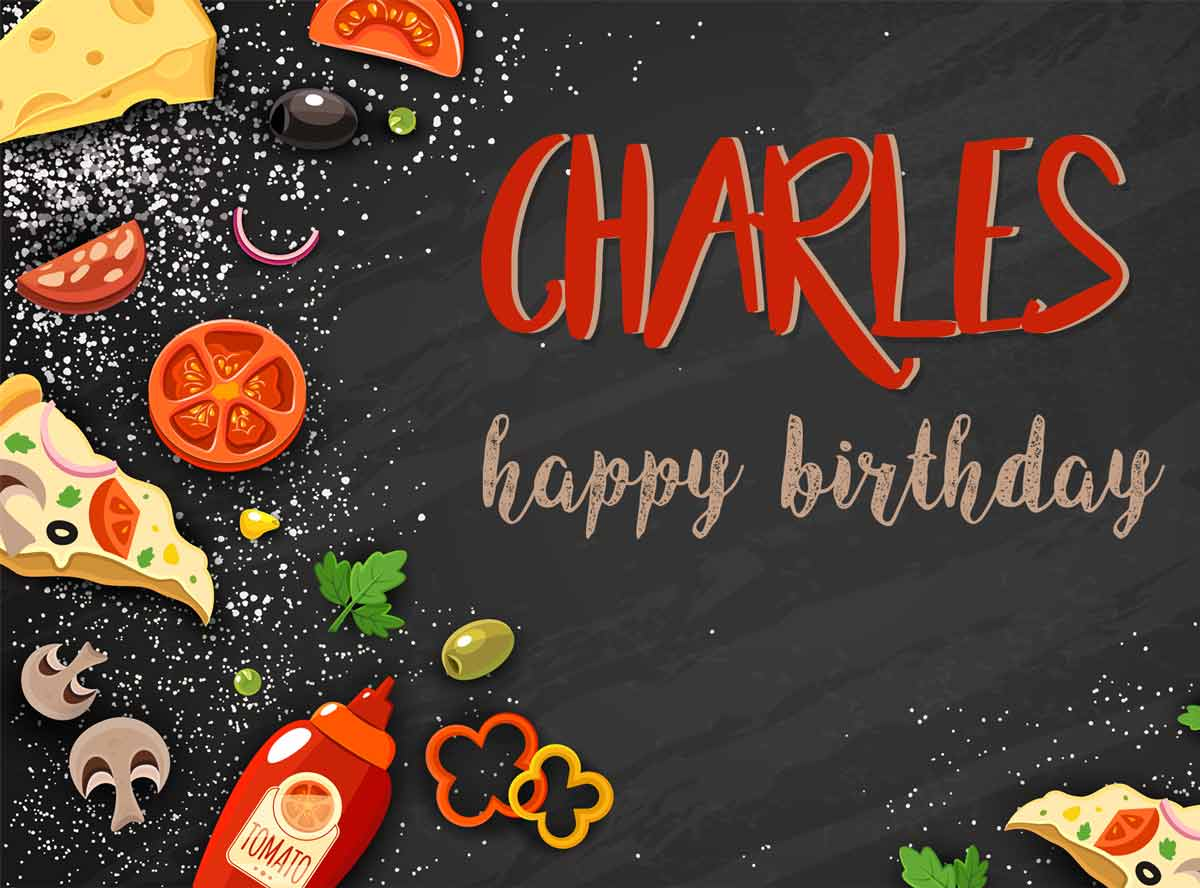 Charles Food Birthday Meme