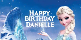 Danielle Frozen Birthday Wish