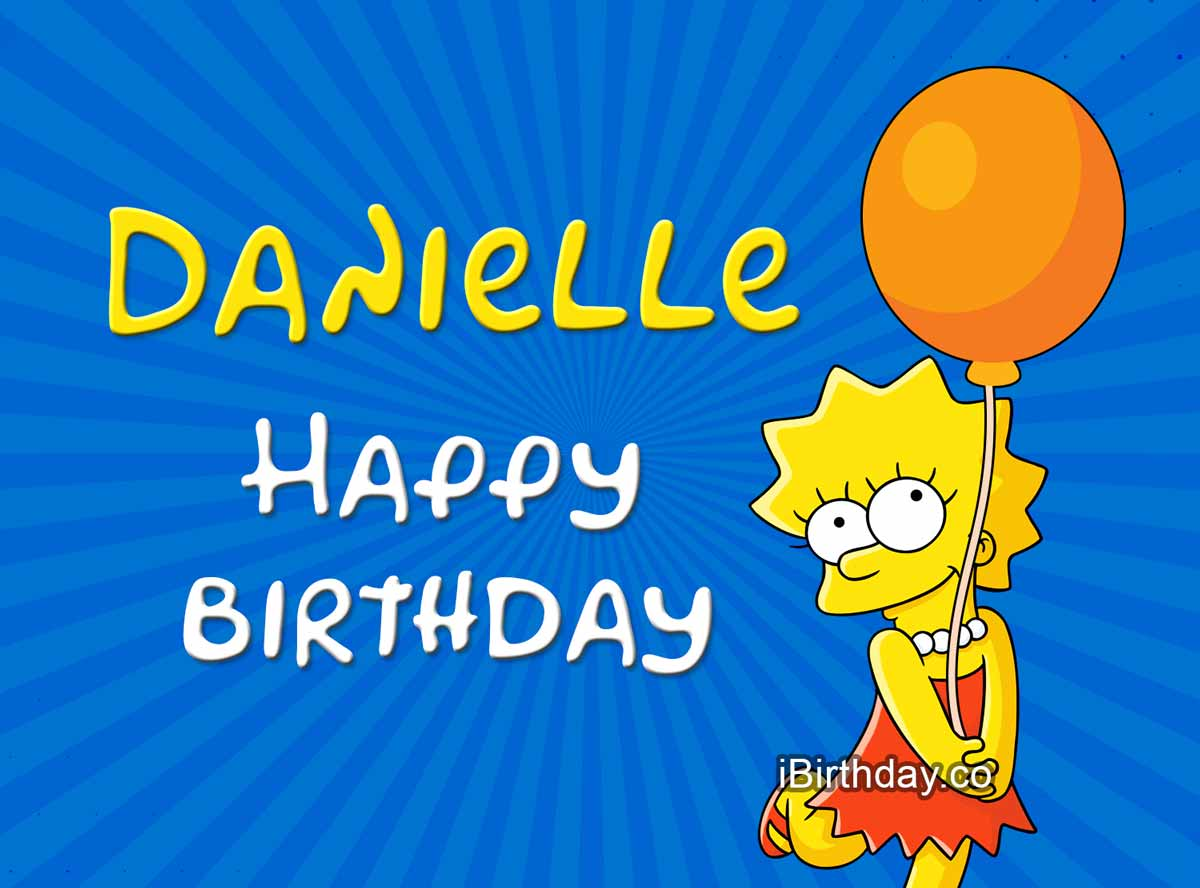 Danielle Lisa Simpson Birthday Meme