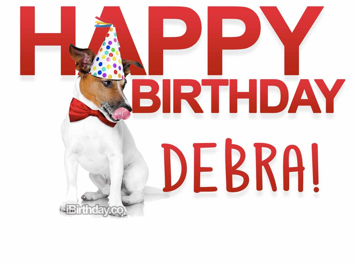 Debra Dog Birthday Wish