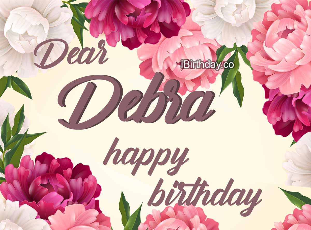 Debra Flowers Birthday Meme