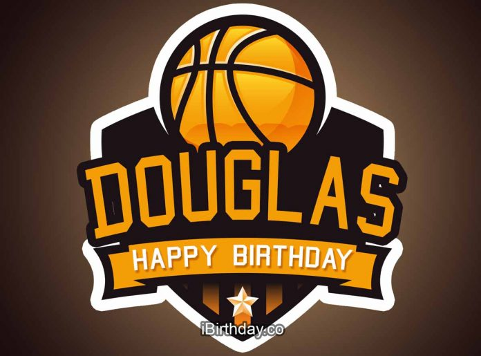 Douglas Basketball Birthday Meme