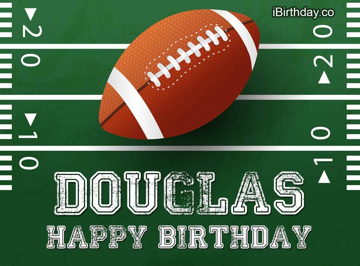 Douglas Rugby Happy Birthday