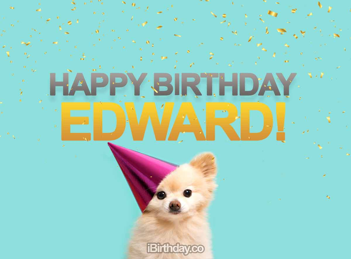 Edward Dog Birthday Meme