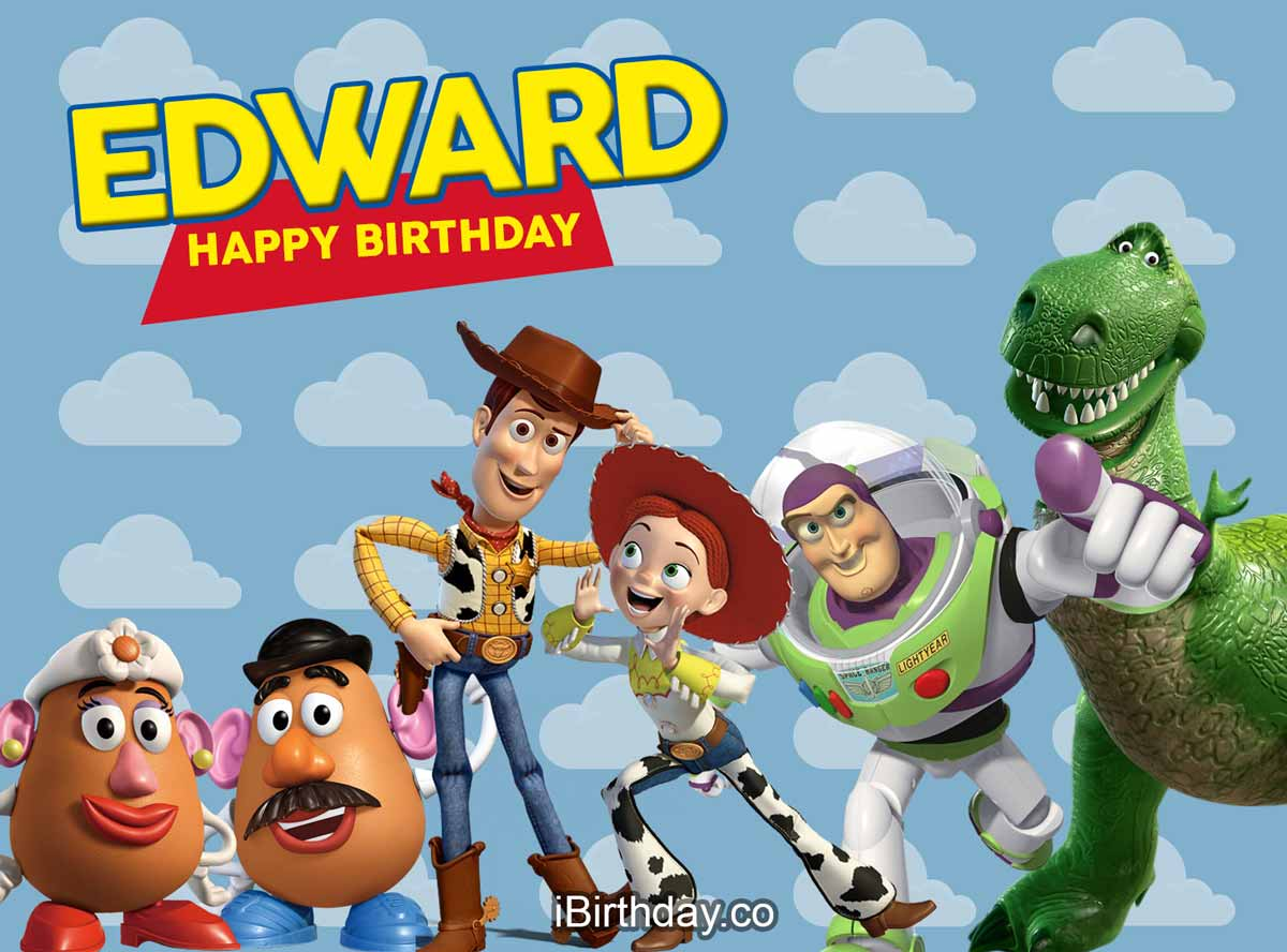 Edward Toy-Story Birthday Meme