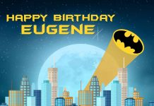 Eugene Batman Birthday Meme