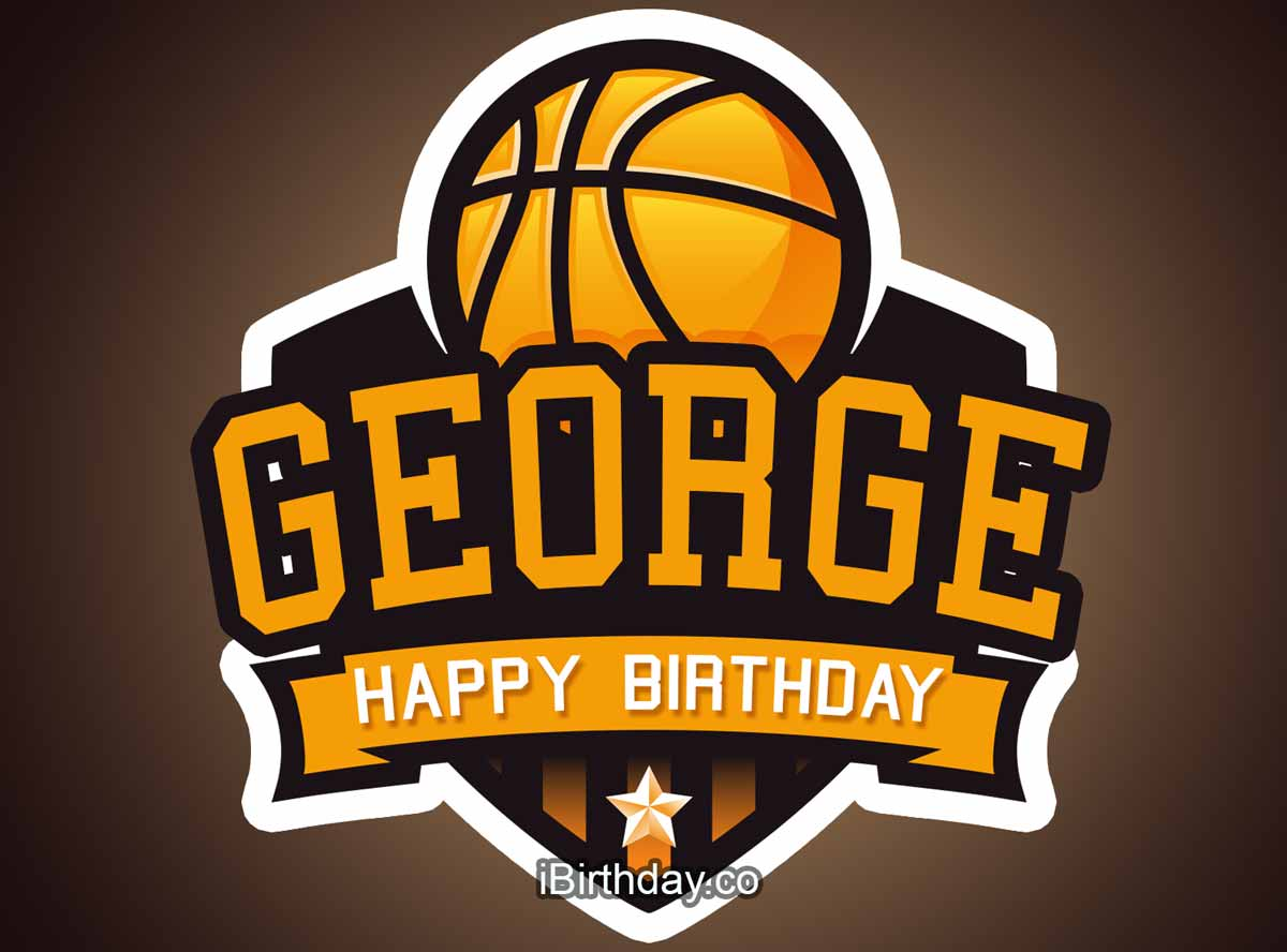 George Basketball Birthday Meme