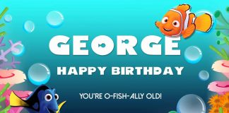 George Nemo Happy Birthday
