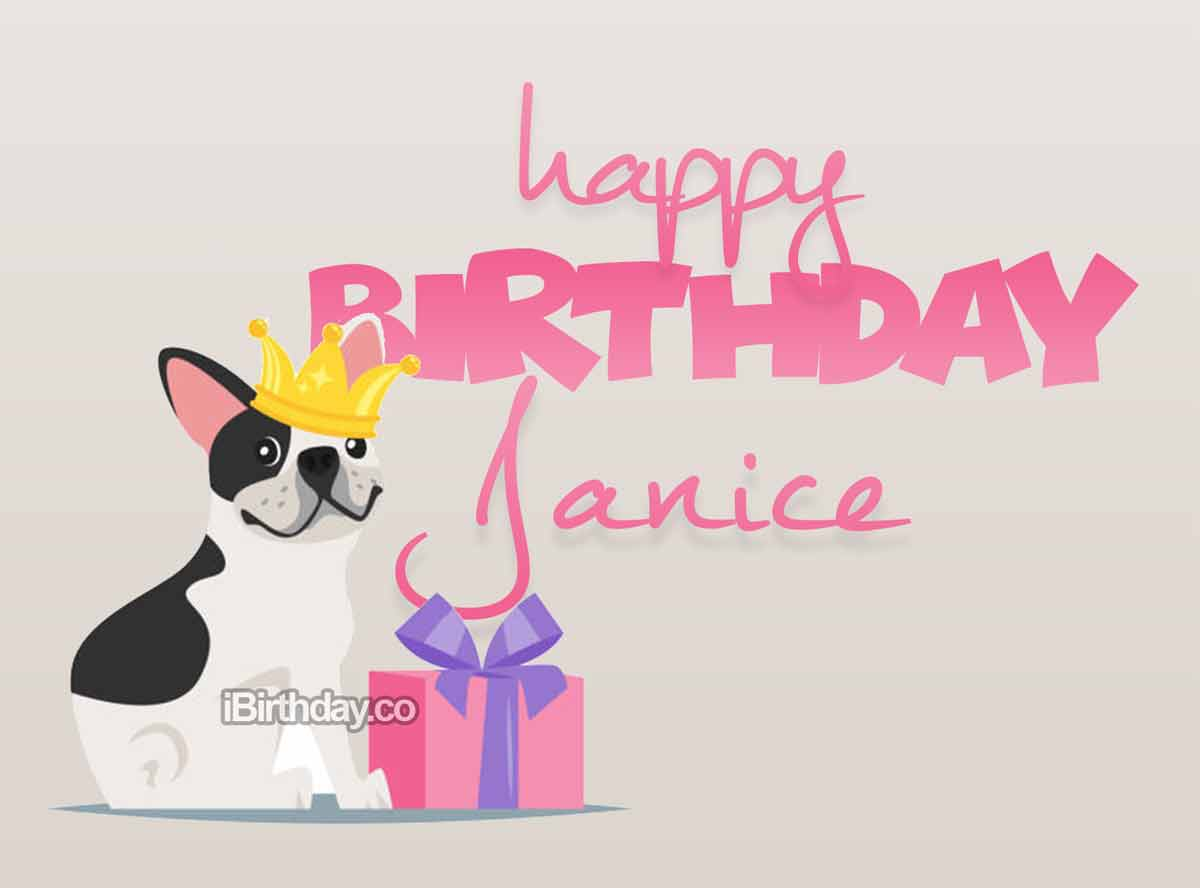 Janice Dog Birthday Meme