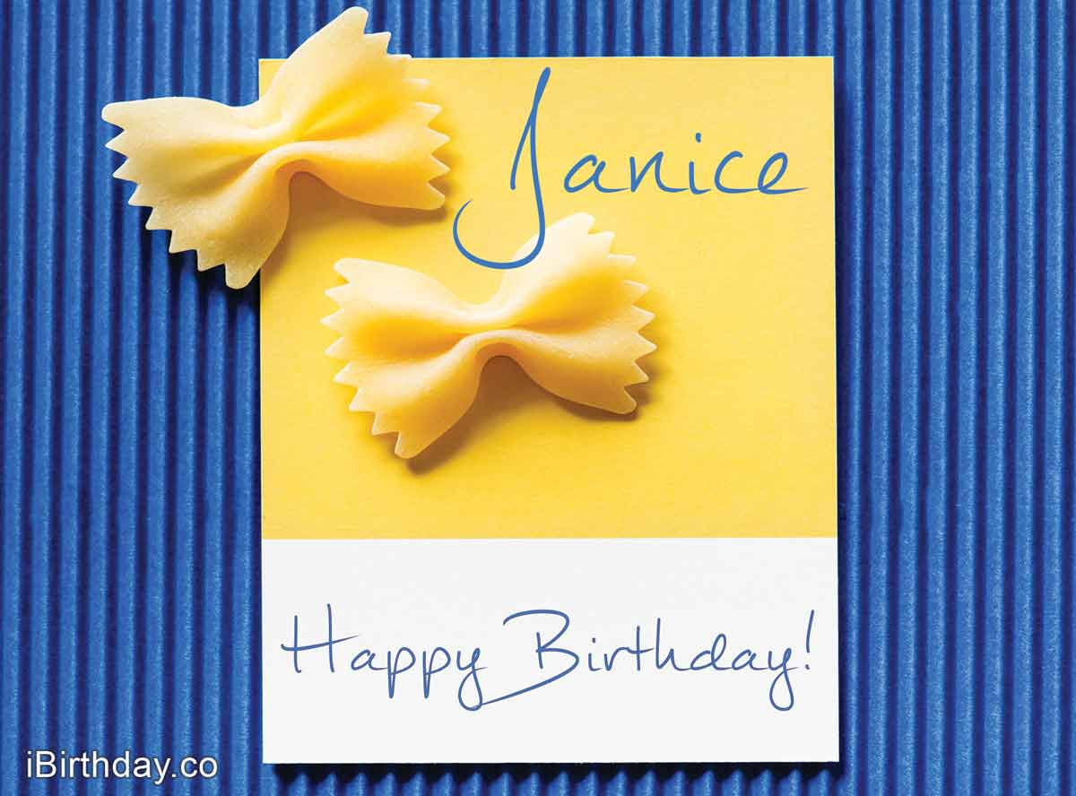 Janice Macaroons Happy Birthday