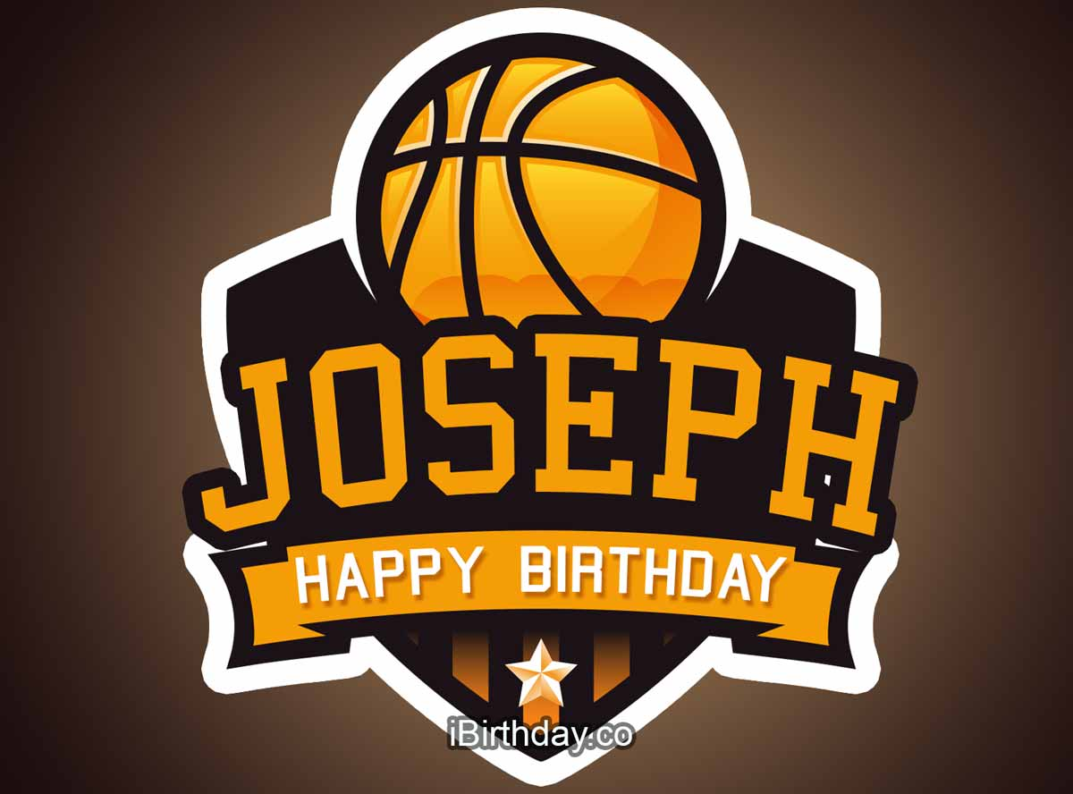 Joseph Basketball Birthday Meme