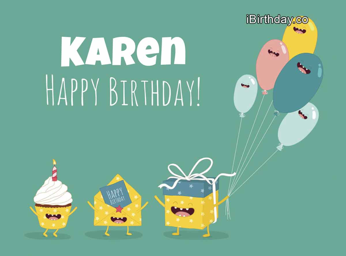 Karen Gifts Birthday Meme