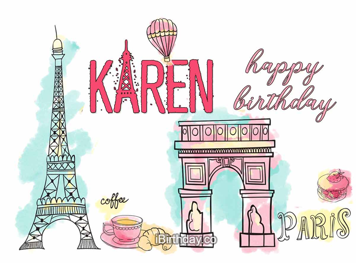 Karen Paris Birthday Wish