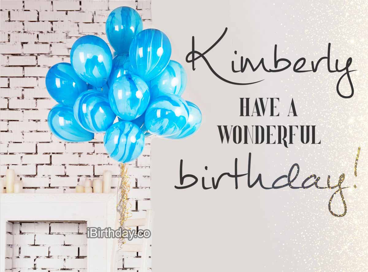 Kimberly Balloons Birthday Meme