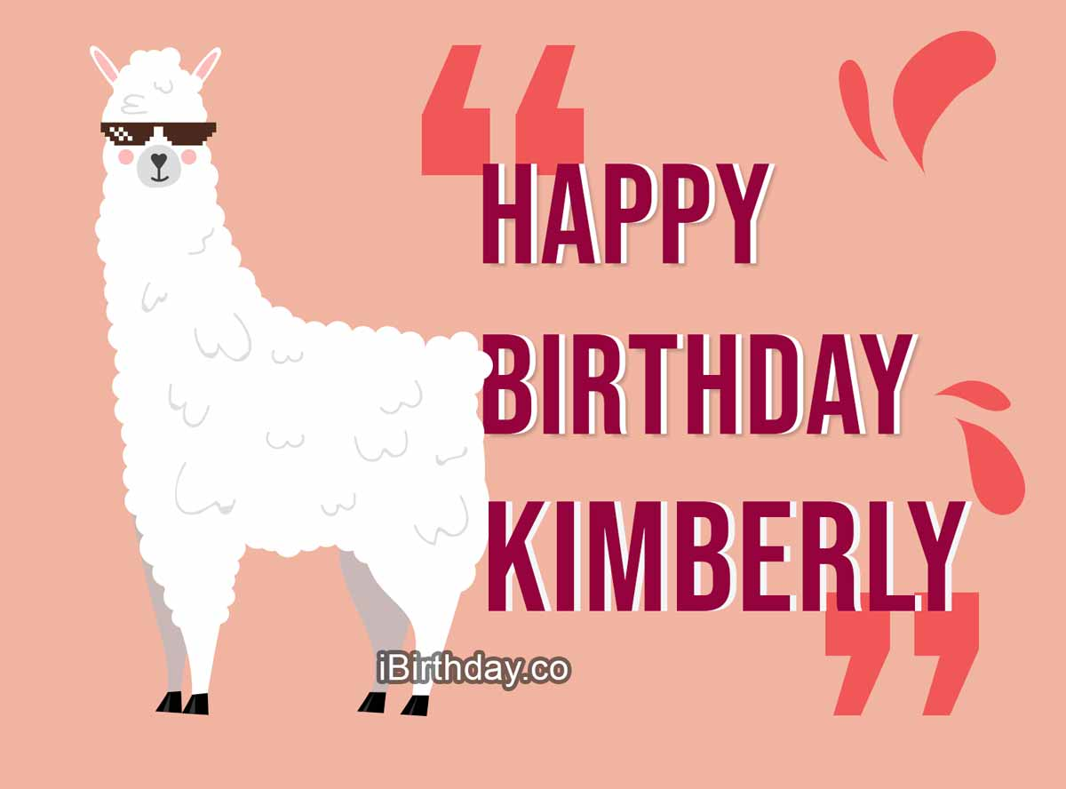 Kimberly Lama Birthday Meme