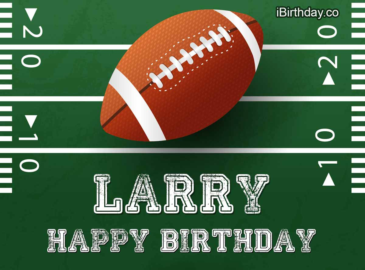 Larry Rugby Birthday Meme