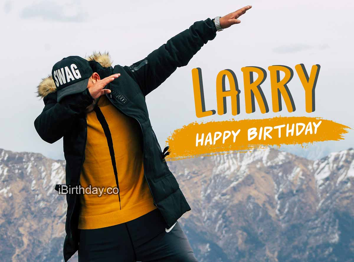 Larry Swag Birthday Meme