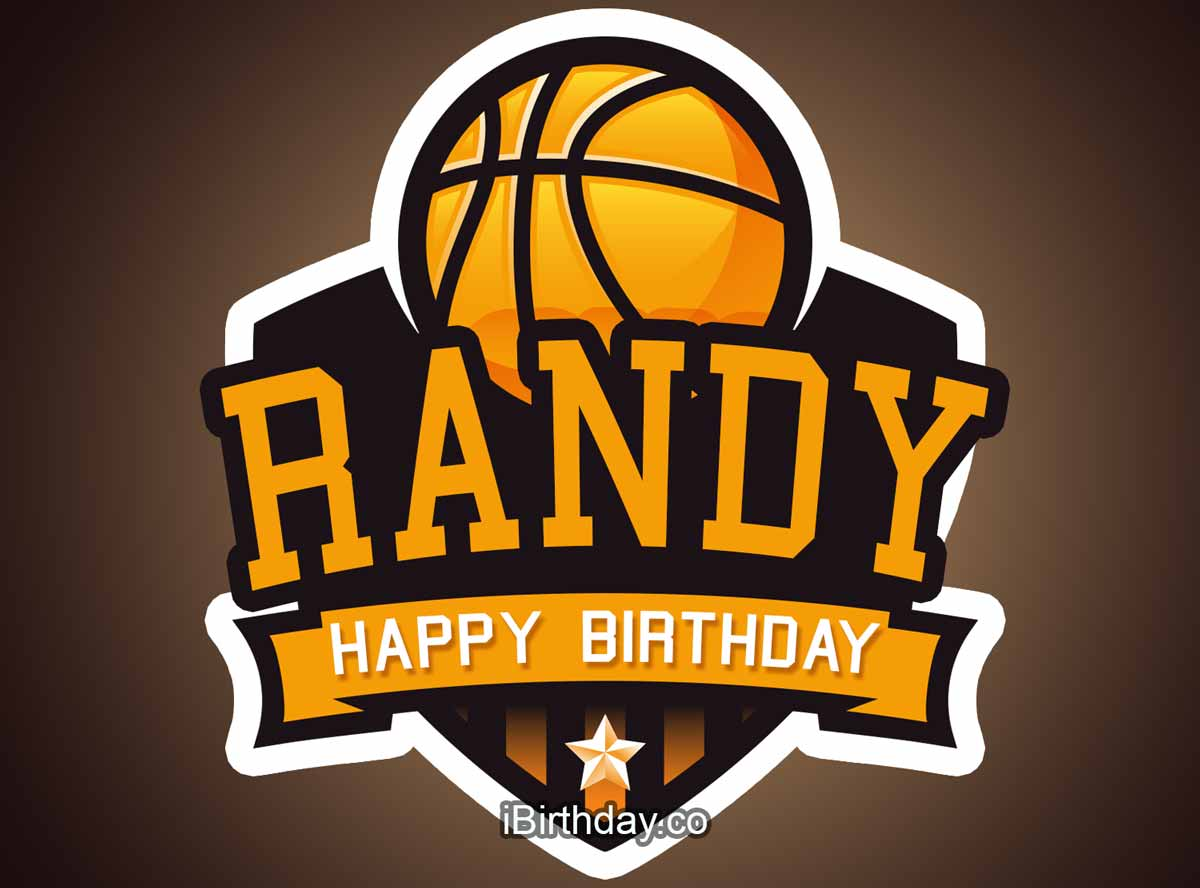 Randy Basketball Birthday Meme