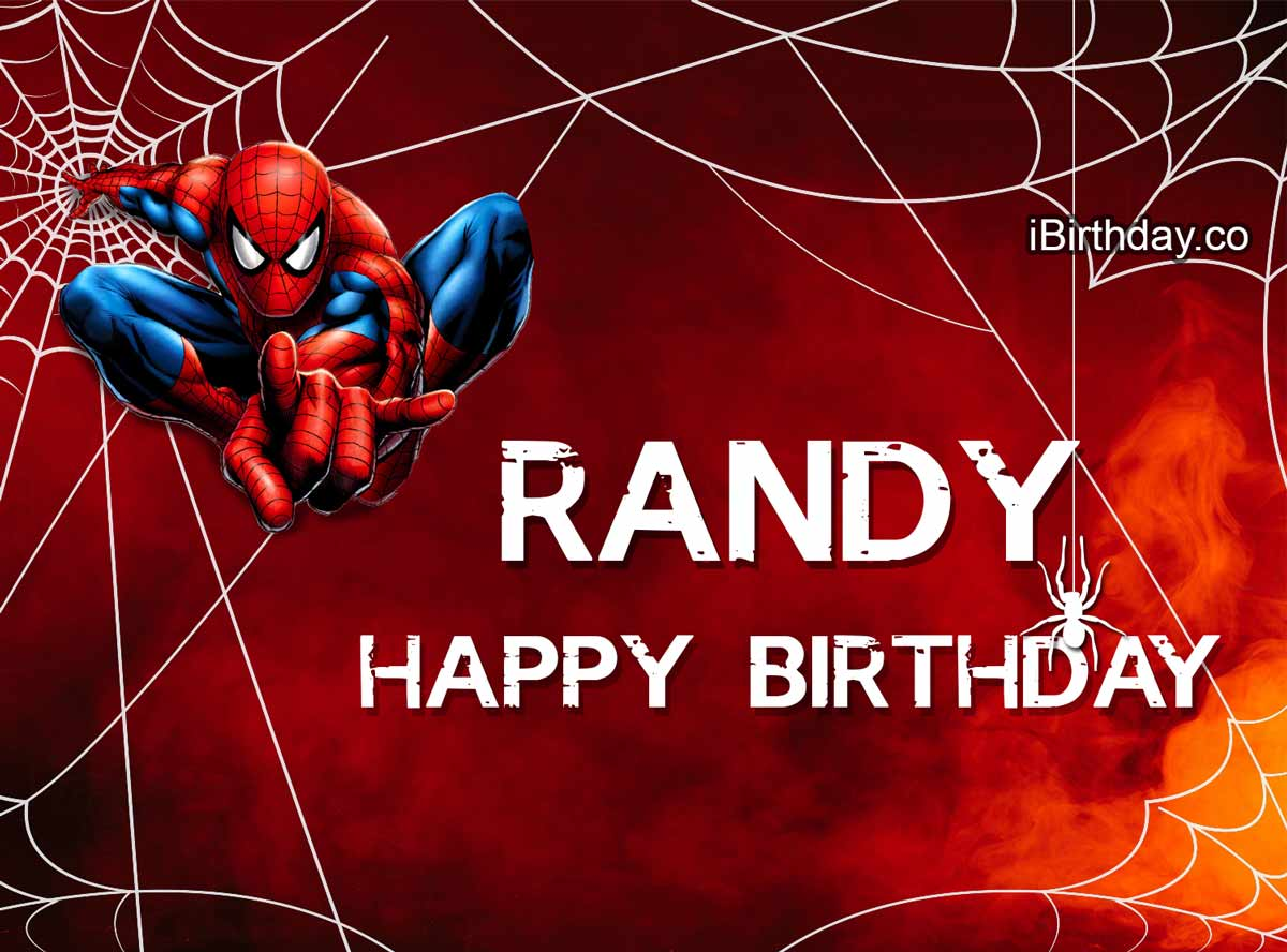 Randy Spider-Man Birthday Meme