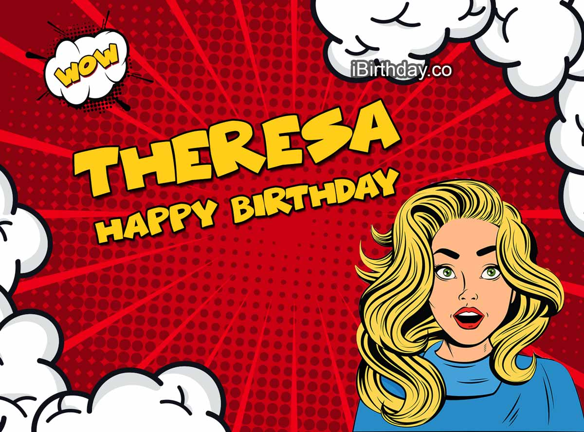 Theresa Comics Birthday Meme