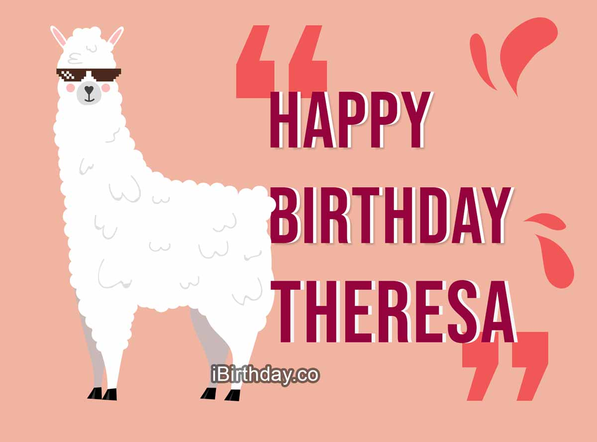 Theresa Lama Birthday Meme